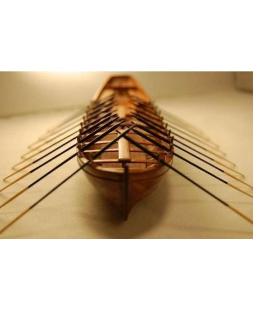 Le requin Longboat Life Boat  Scale 1/48 L 242MM 9...