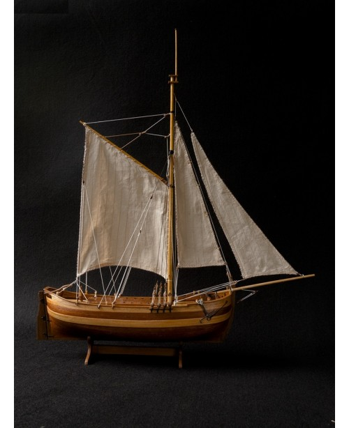 "Chapman Scale 1/50 485 MM 19"" Wood Ship Model..."