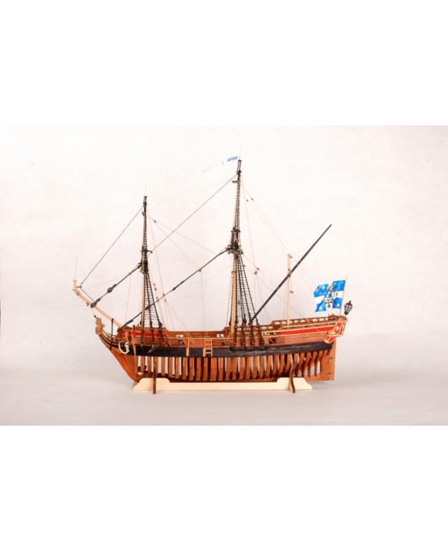 La Belle 1684 Full Ribs Scale 1/48 450mm 17.7&quot...