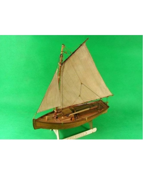 "Flattie - large version scale 1/20 L 18"" wood..."