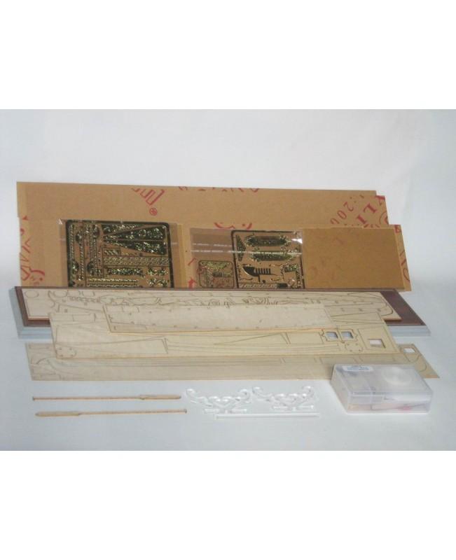 ZHL Wedding Gondola scale 1:20 478mm 19 inch wooden ship model kits
