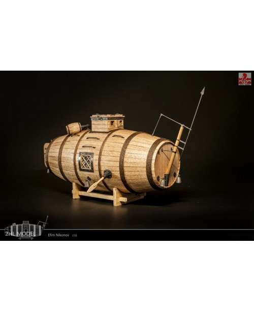 Nikonov Submarine 35mm Wooden Model Kits
