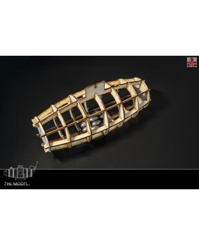 Nikonov Submarine 35mm Wooden Model Kits