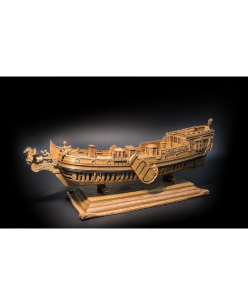 "Utrecht Pegasus Scale 1/50 18"" Wood Carving p..."
