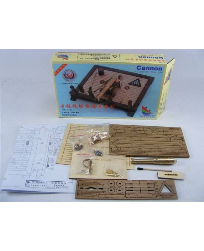Ancient Battleship Deck 32 pounds Scene model Scale 1/30 Wood Model ship kit