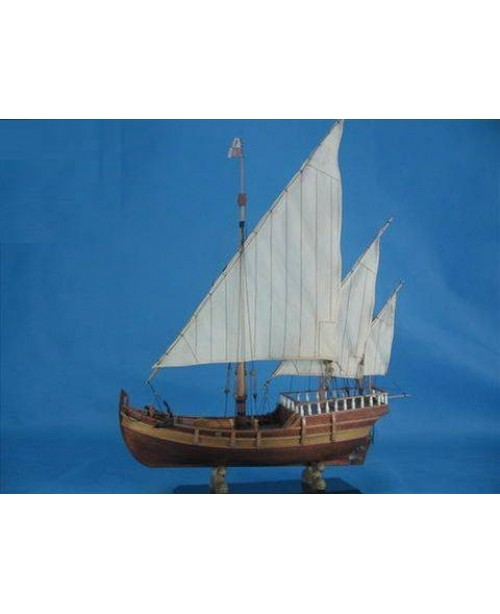 Nina 1492 scale 1:50 L 550mm 21.6 inch wooden mode...