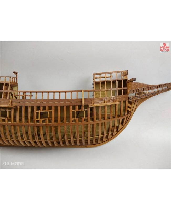 """Mayflower Full rib Cross Section Scale 1/48 25"""" Wooden Model Ship Kit"""