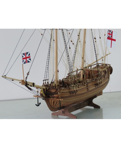 "Halifax 1770 Scale 1/50 L 24.8"" wooden model ..."