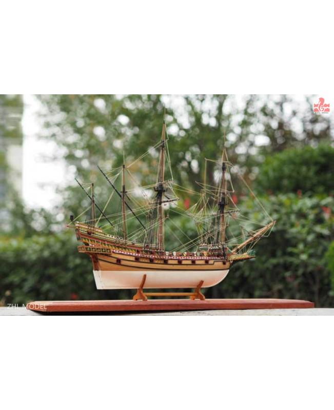 "REVENGE 1577 Drake's flagship Scale 1/96 23"" Wood Ship Model kit"