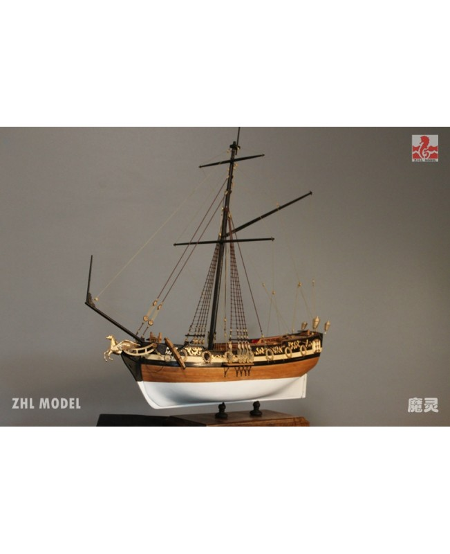 "British William Royal 2019  1:48 21.8"" 556mm wooden model ship kit"