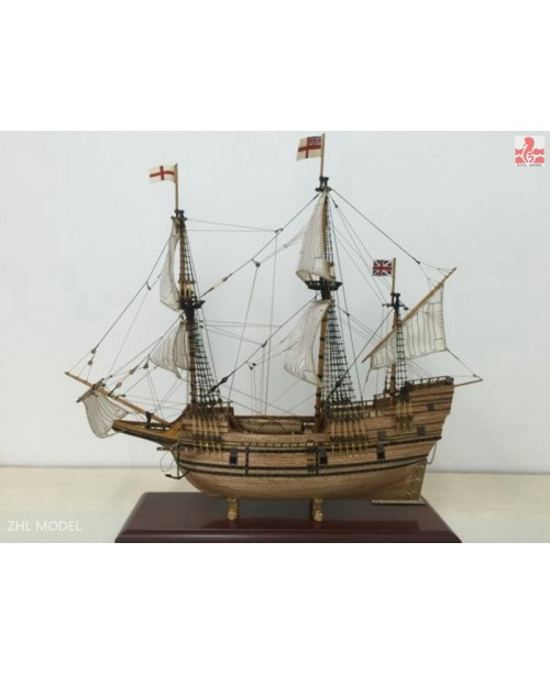 "Mayflower 1620 Scale 1/60 25"" 650mm Wooden mo..."