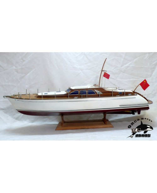 Simulation runabout high speed runabout boat model...