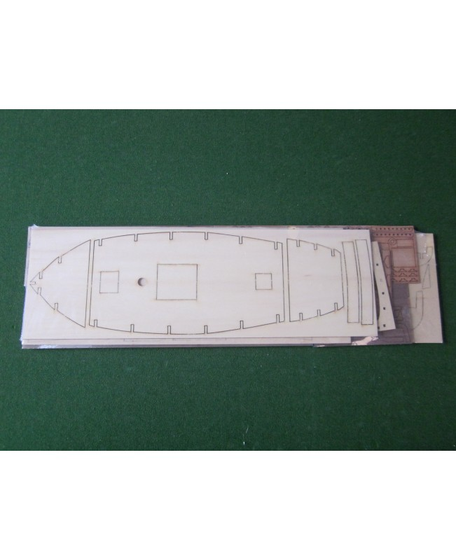 Sweden Yacht Sailboat Scale 1/50 25 inch 640 mm Wooden Boat Model kit