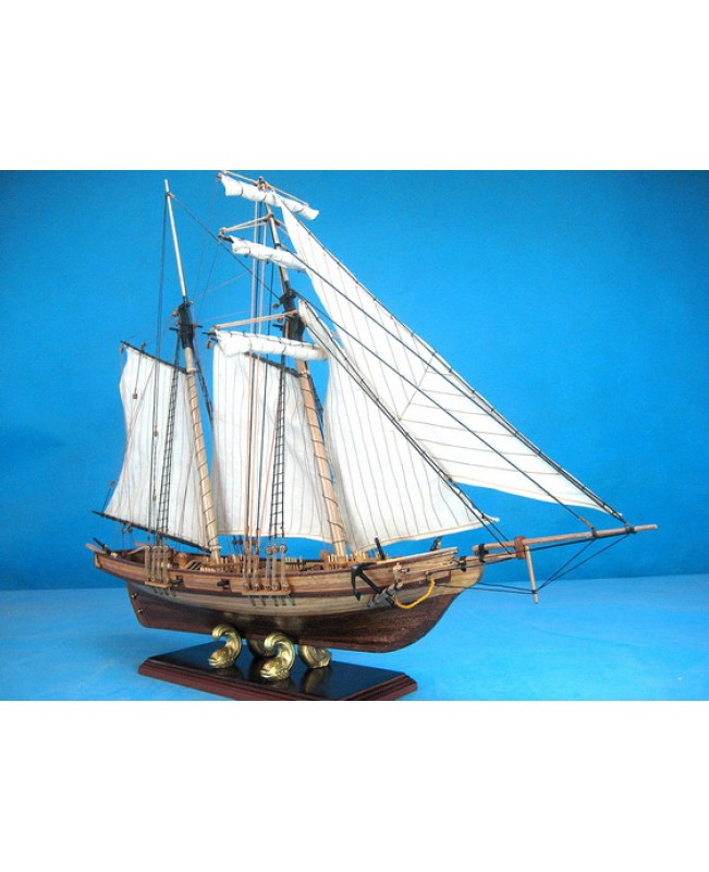 New port wooden ship model kits 1/32 29inch 730mm length