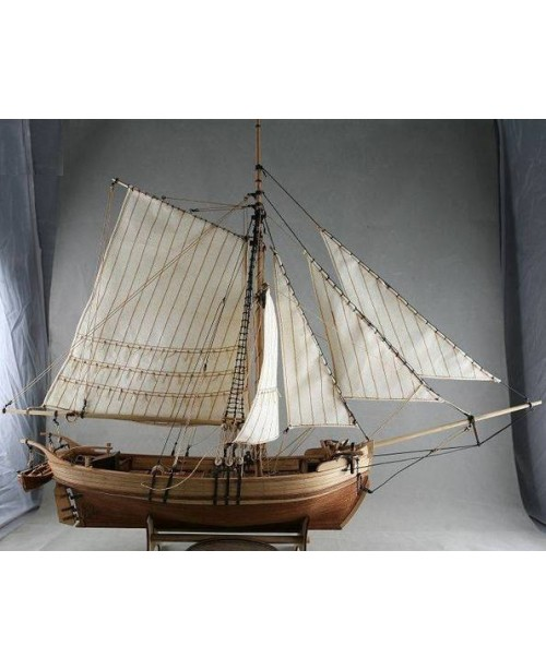 Sweden Yacht Sailboat Scale 1/50 25 inch 640 mm Wo...