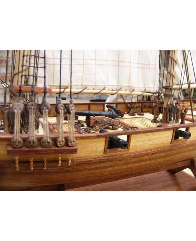 "Halcon Baltimore Schooner Scale 1/48 750mm 30"" Wood Model Ship Kit"