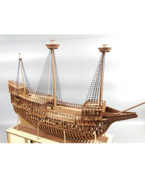 """Mayflower Full Ribs Scale 1/48 31"""" Wooden Mod..."""