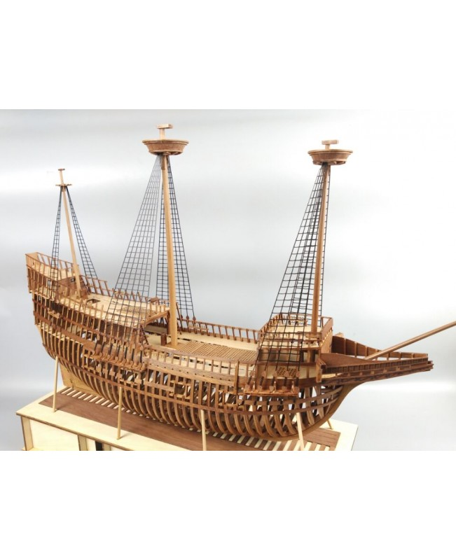 "Mayflower Full Ribs Scale 1/48 31"" Wooden Model Ship Kit"