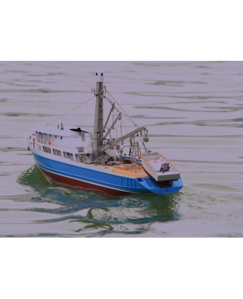 "Albatun seiner Scale 1/60 36"" Wood Model Ship..."