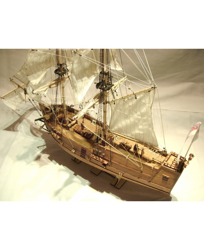 Golden Star scale 1/100 wooden model ship kit