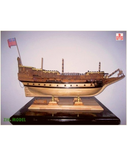 Special Offer Sovereign of the Seas wooden model s...