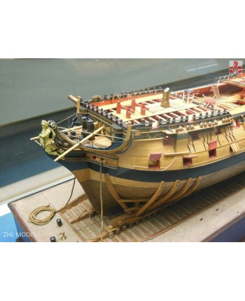 HMS Bellona Scale 1/48 L:1250mm (1-2 SESSION ) Bat...