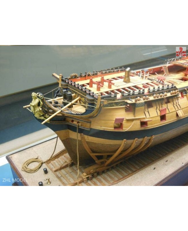 HMS Bellona Scale 1/48 L:1250mm (1-2 SESSION ) Battleship Wooden Ship Model Kit