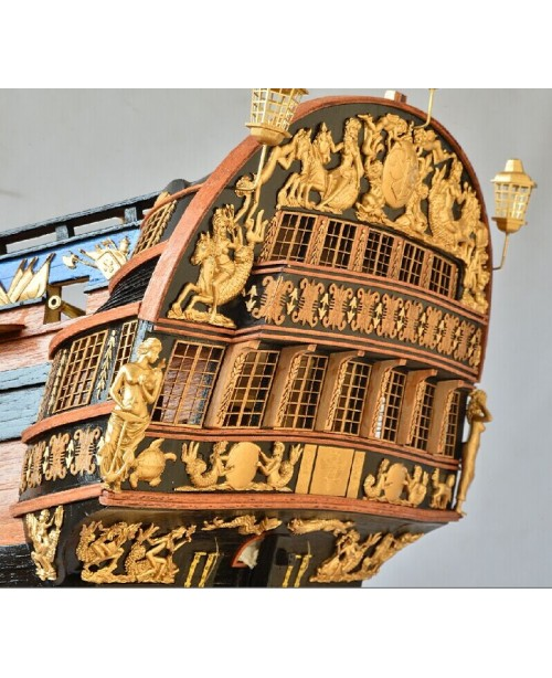 INGERMANLAND 1715 Model Ship Kits Scale 1/50 1304m...