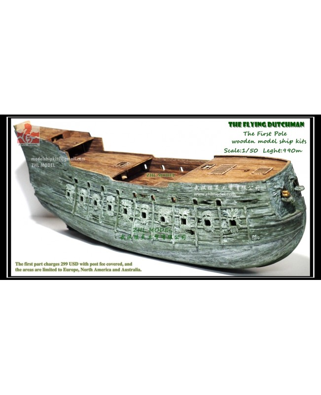 The Flying Dutchman wooden model ship kits scale 1:50