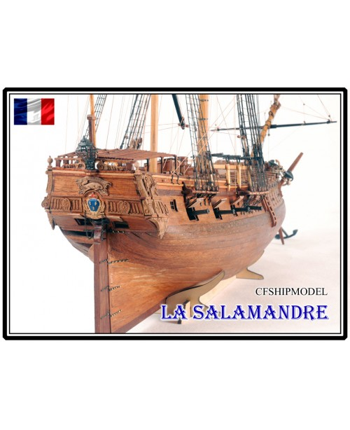 La Salamandre 1752 wood model ship kits