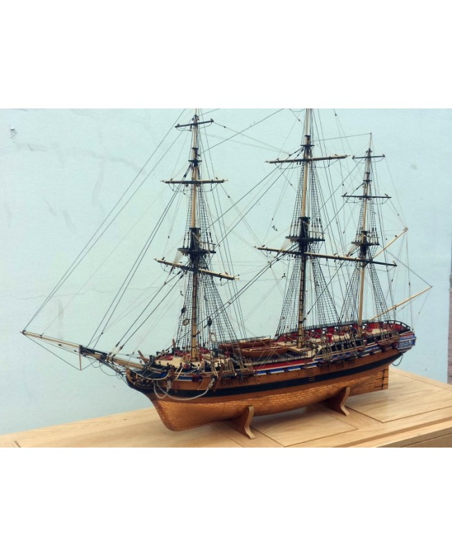 "HMS Diana 1794 38 Gun Heavy Frigate Scale 1/64 1180mm 46.4"" Wood Model Ship Kit"