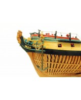 "HMS Enterprise Scale 1/48 840 mm 33"" Wood Shi..."
