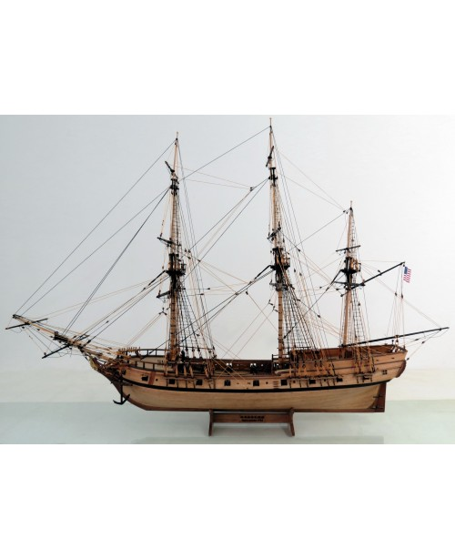 "RATTLESNAKE 1782 Scale 1:48 35"" 900 mm Wood S..."