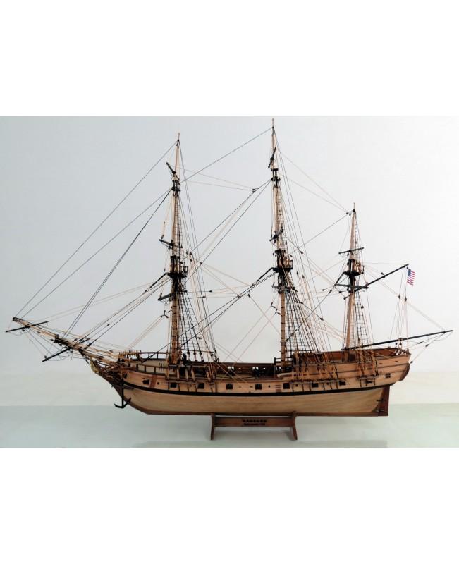 """RATTLESNAKE 1782 Scale 1:48 35"""" 900 mm Wood Ship Model Kit"""