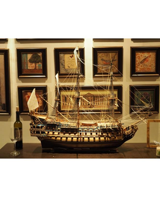 The updated version Le Soleil Royal zhl model ship kit