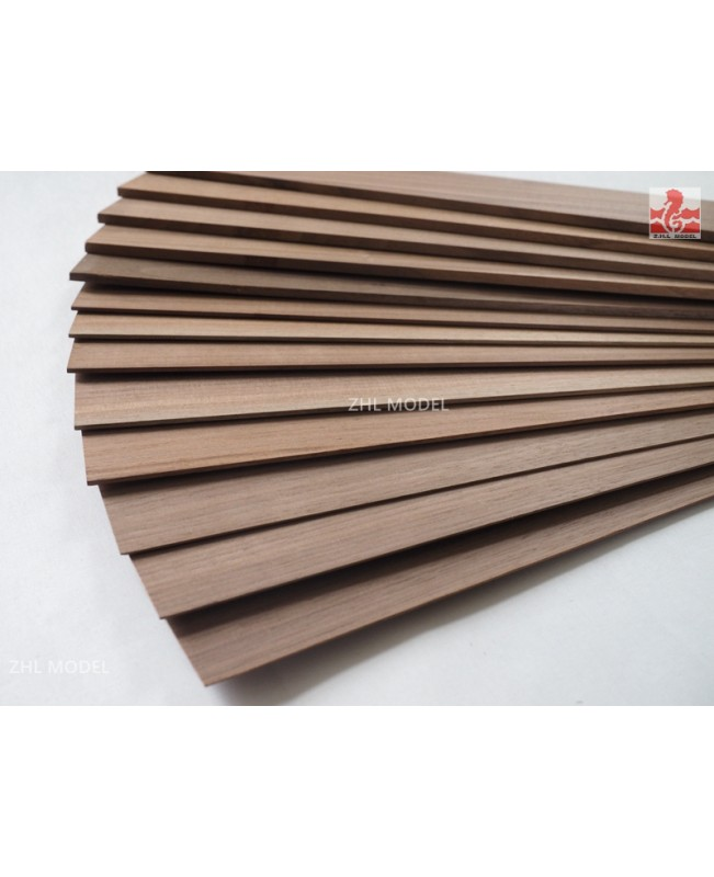 Black Walnut wood boards 1-8mm Thick 1 Pieces