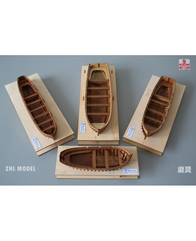 Full Rib Scale 1:48 Model Ship Life Boat only POF ...