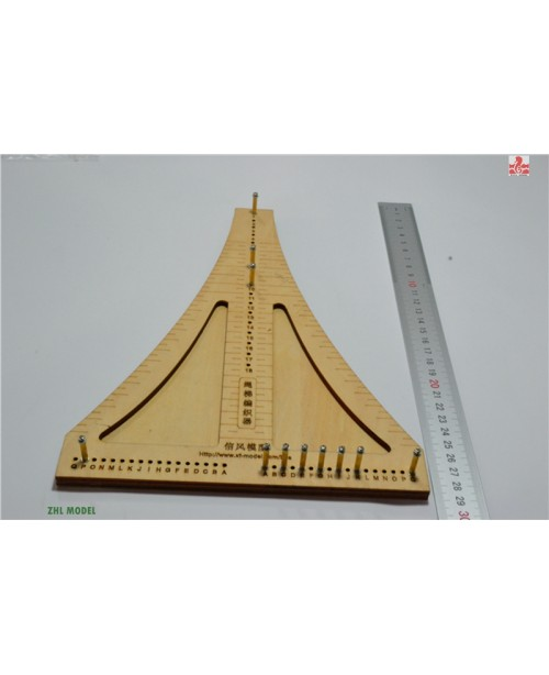 Wooden ship tool the Rope ladder weaver rope croch...