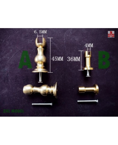 Brass base 2 pieces