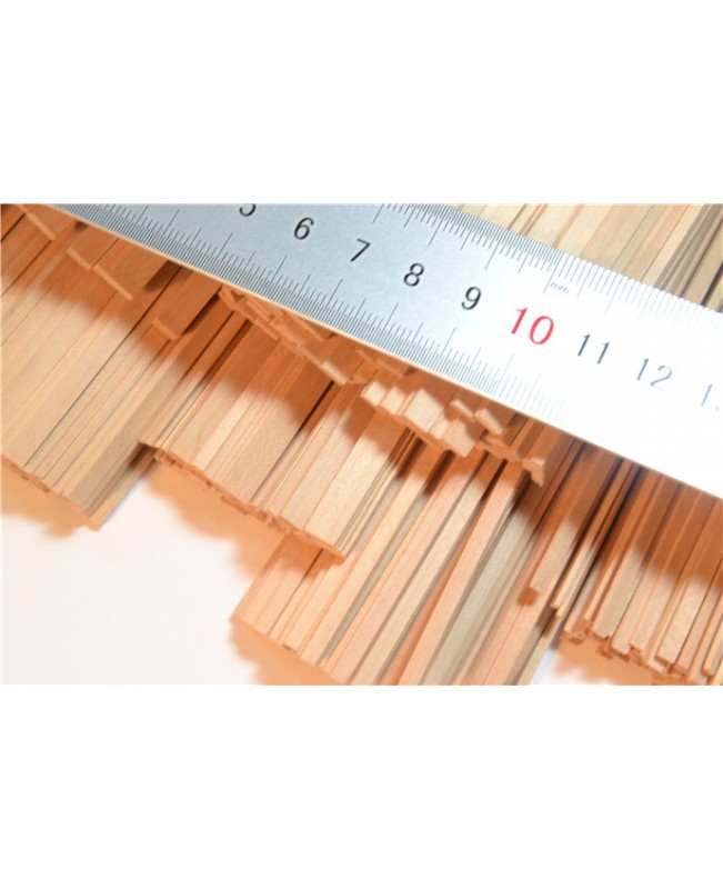 Pear Wood Strips 3-12mm Thick 2 Pieces