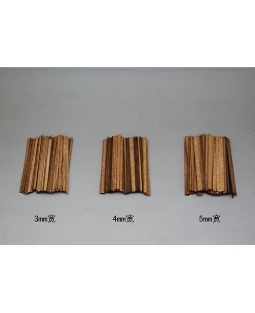 Sapele wood strips(short),100 pieces