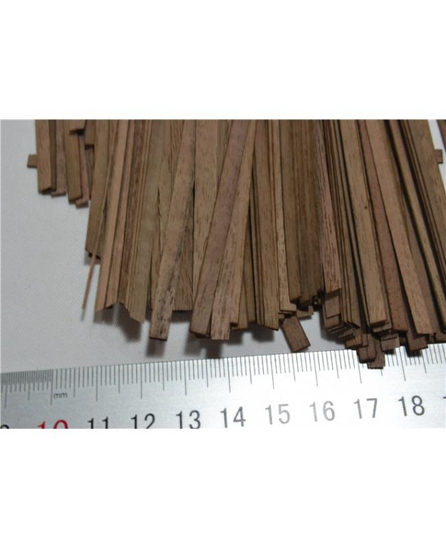 Sapele wood strips(short),100 pieces