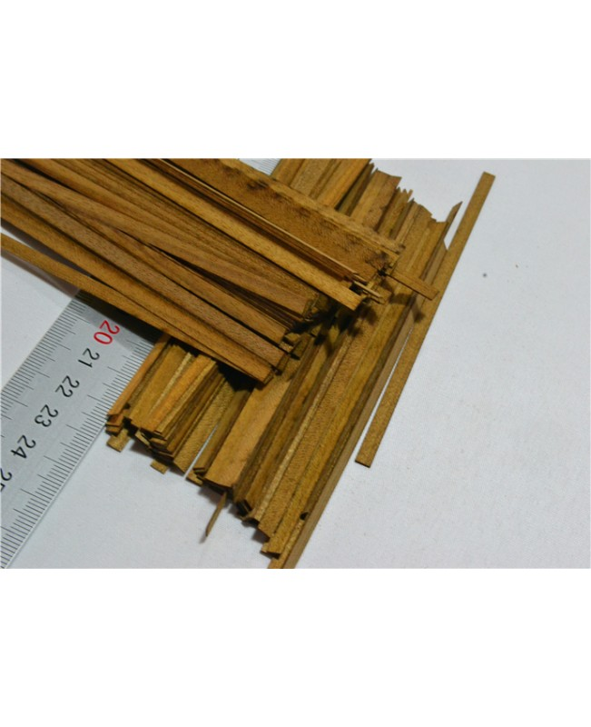 Teak wood strips,(short)100 pieces