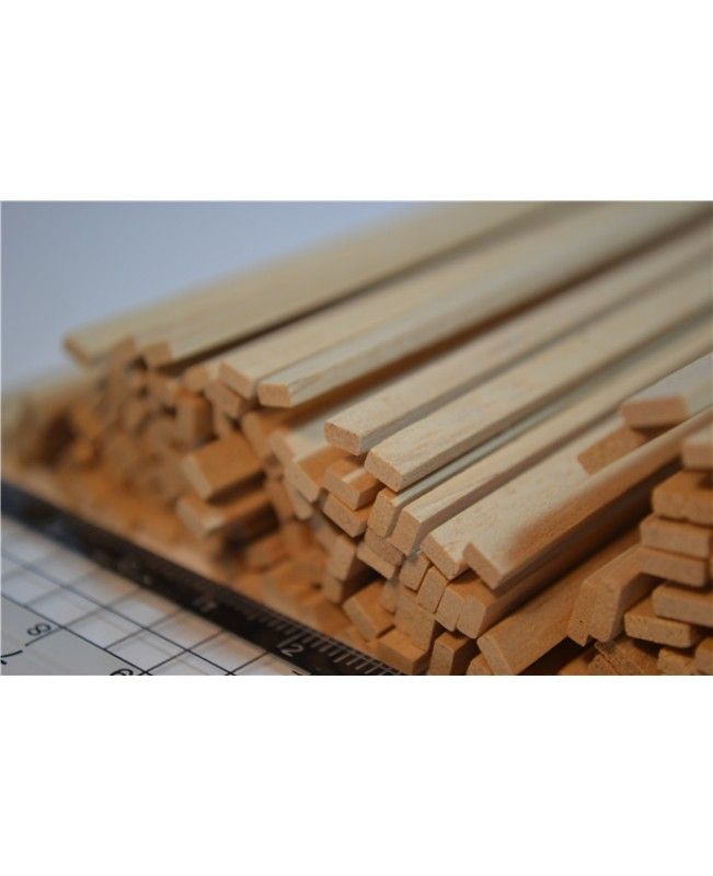 Indonesian Timber Wood Strips 3-12mm Thick 2 Pieces