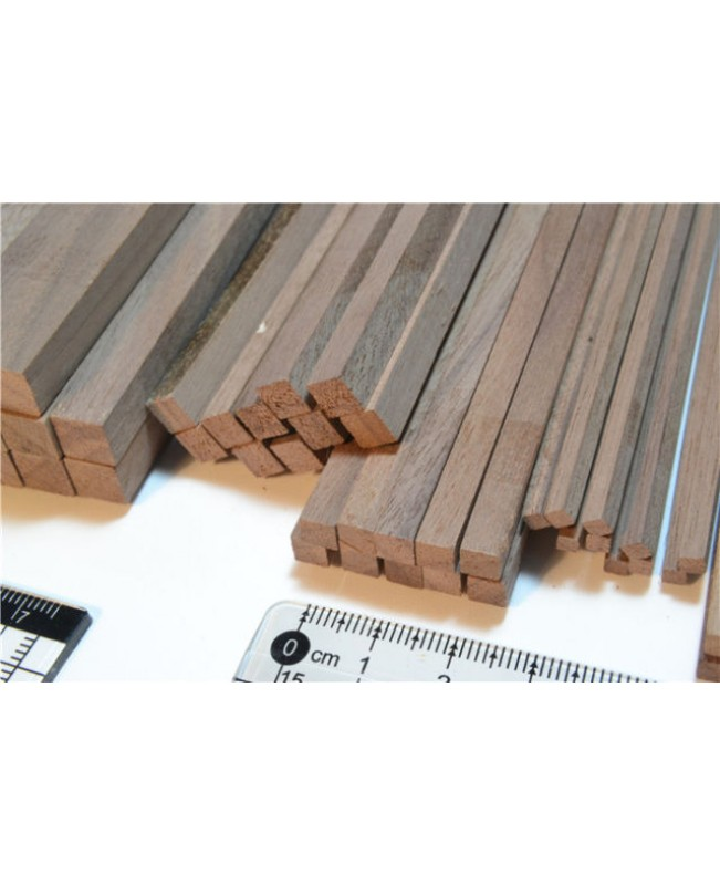 Black Walnut Wood Strips 3-12mm Thick 2 Pieces