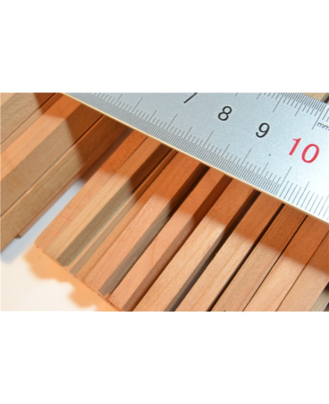 Cherry Wood Strips 3-12mm Thick 2 Pieces